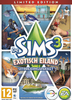 De Sims 3: Exotisch Eiland (Limited Edition) packshot box art