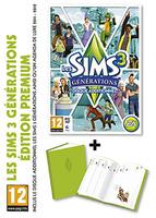 Les Sims 3: Générations + Agenda Deluxe (Edition Premium) packshot box art