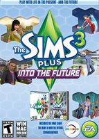 The Sims 3 Plus Into the Future packshot box art