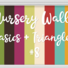 Nursery Walls Set #8 - Basics + Triangles
