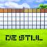 De Stijl Wooden Wall Panels Blocks (Top) #8