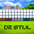 De Stijl MCM Wall Panels Blocks (Bottom) #9