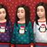 Children's Penguin Christmas Sweater