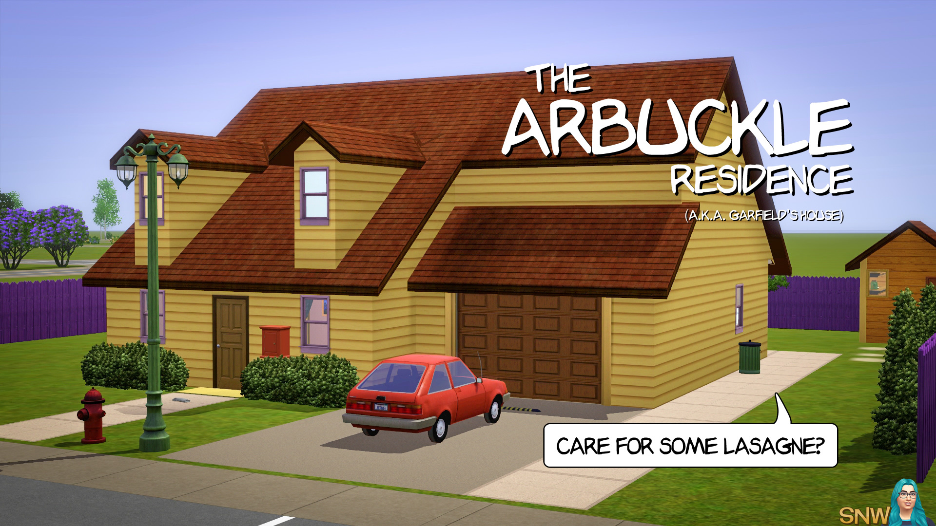 The Arbuckle Residence (Garfield's House)
