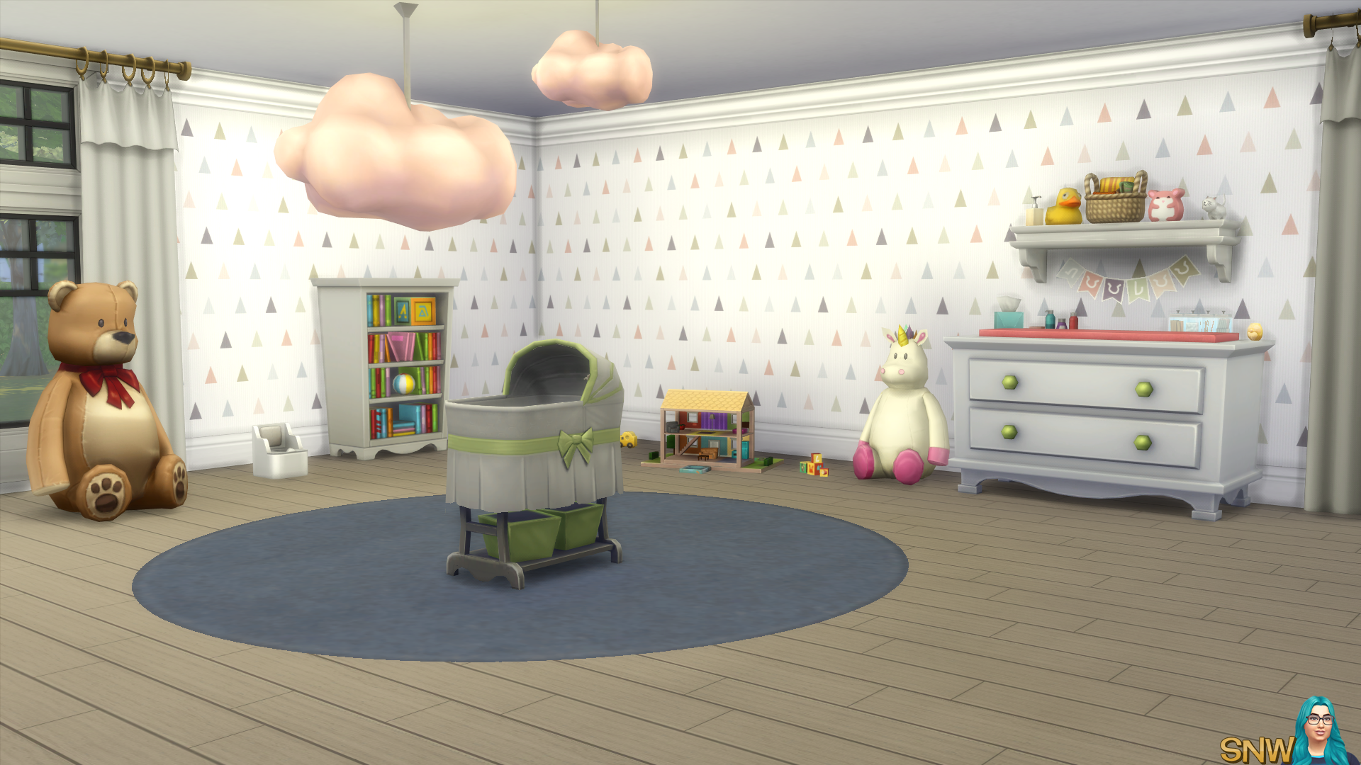 Nursery Walls Set #2 - Basics + Triangles