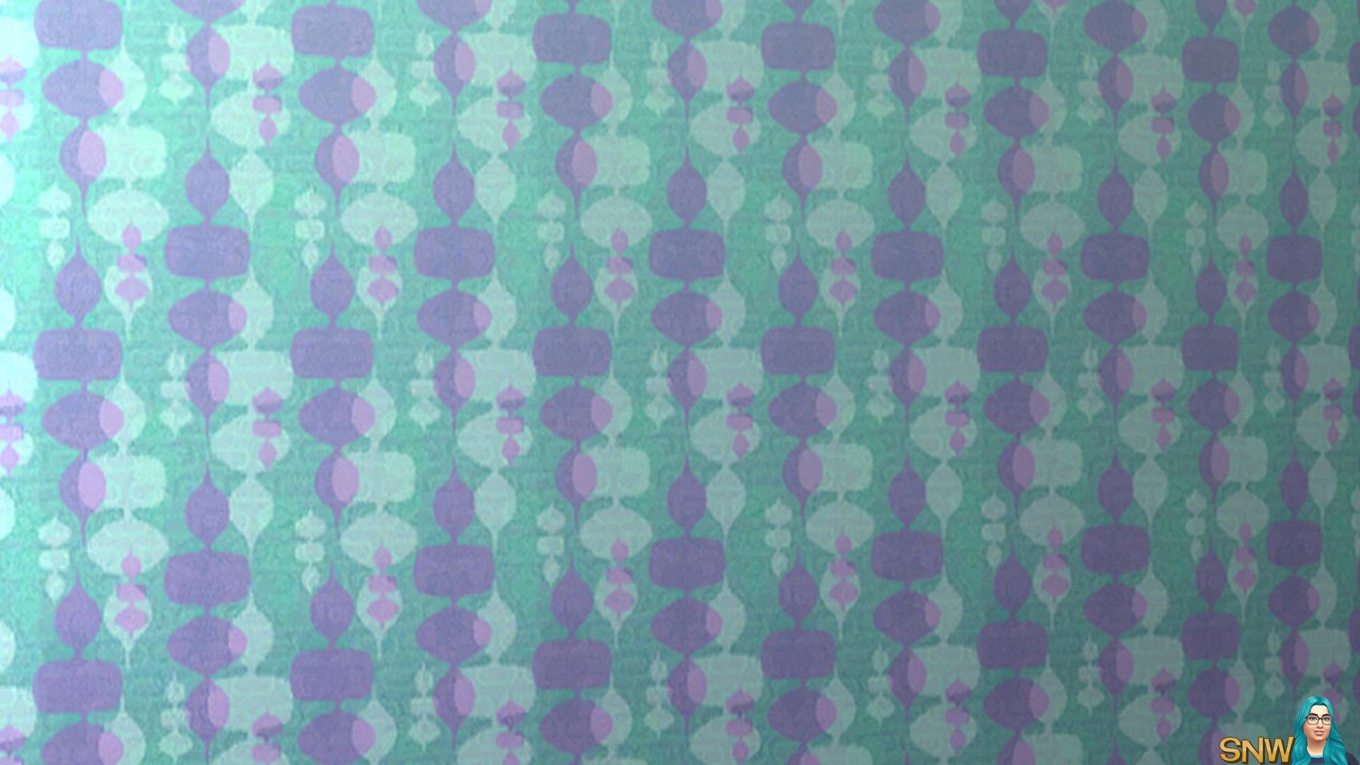 Mod wallpaper blue & purple
