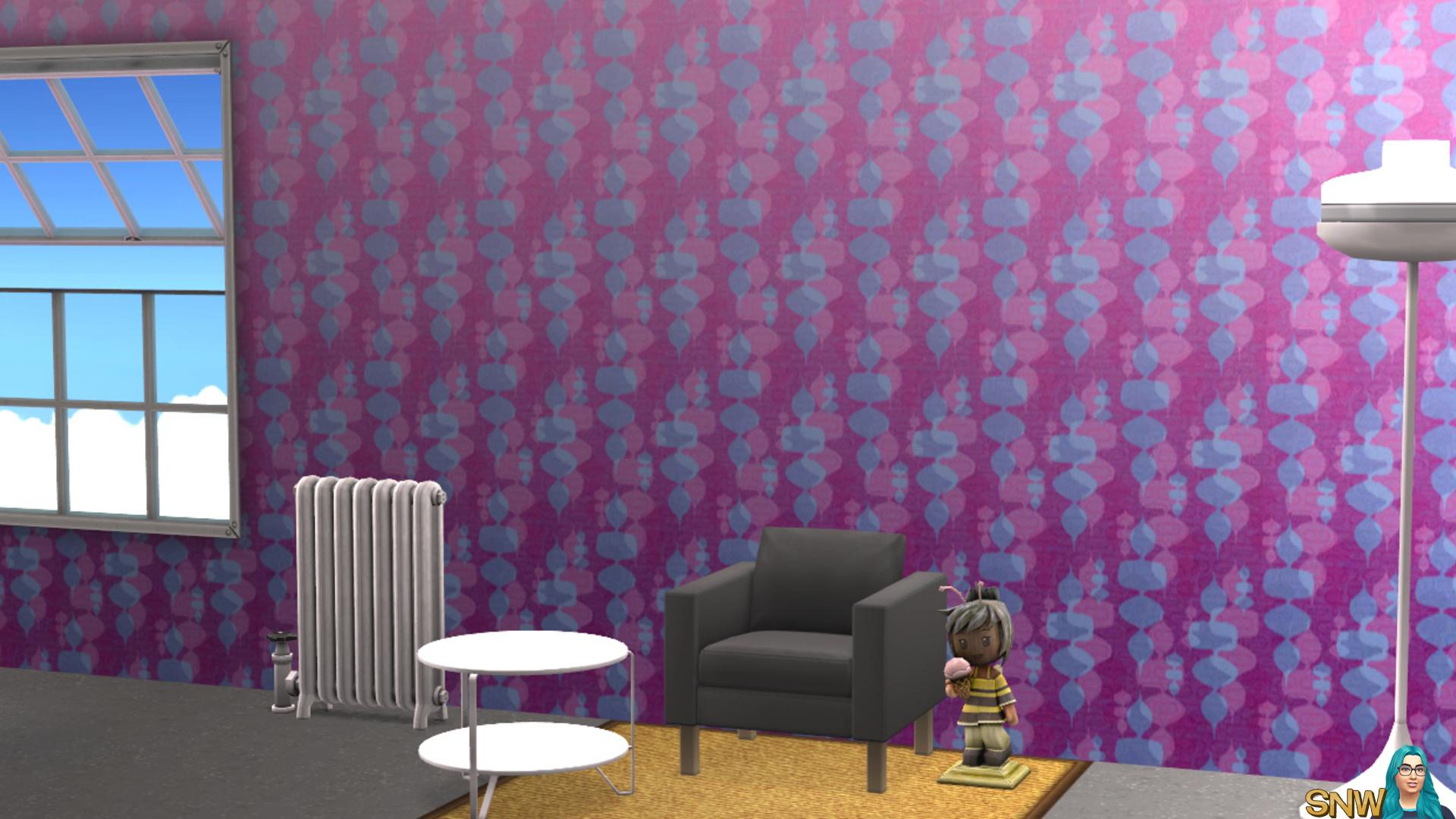 Mod wallpaper purple & blue