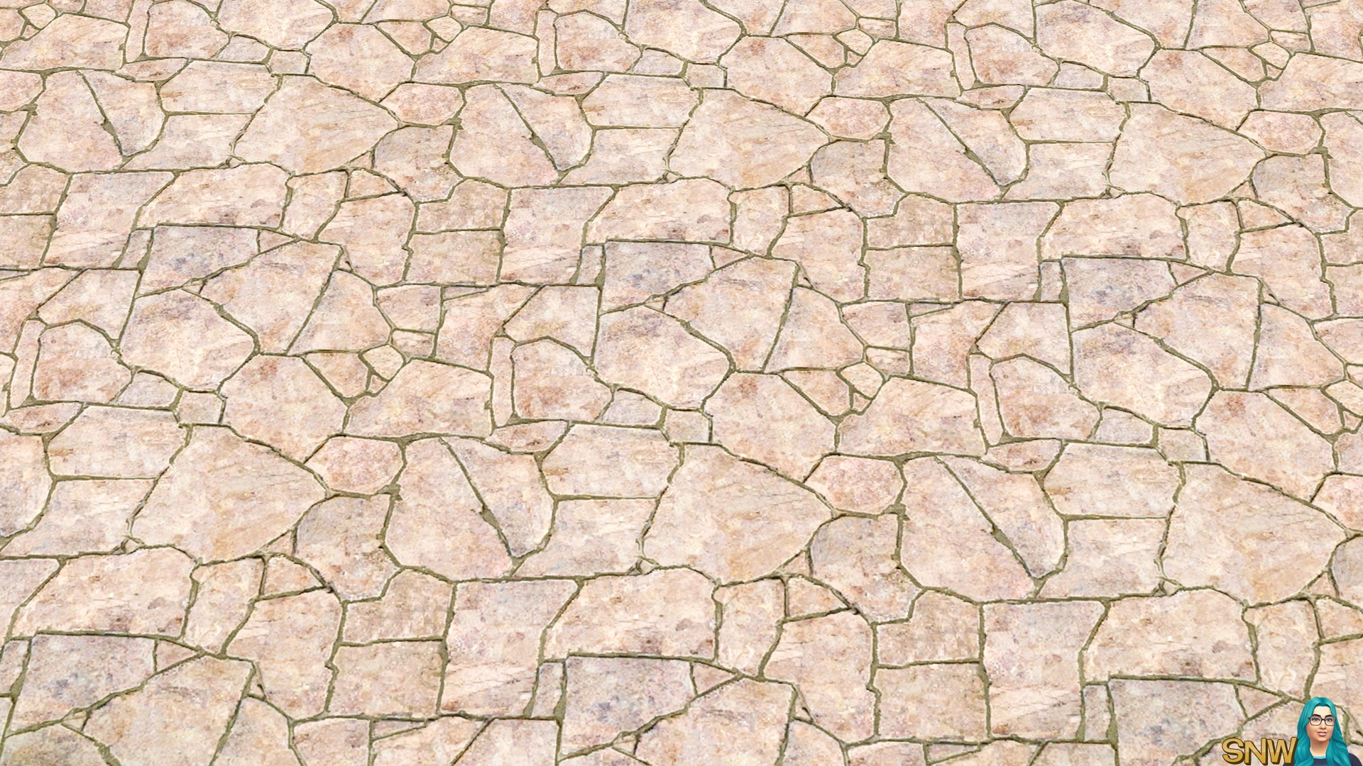 Blank Slate Flagstone Flooring