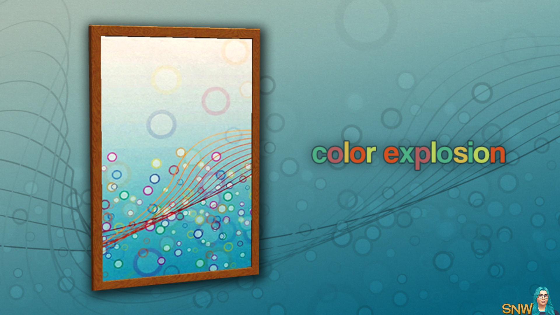 Color Explosion painting
