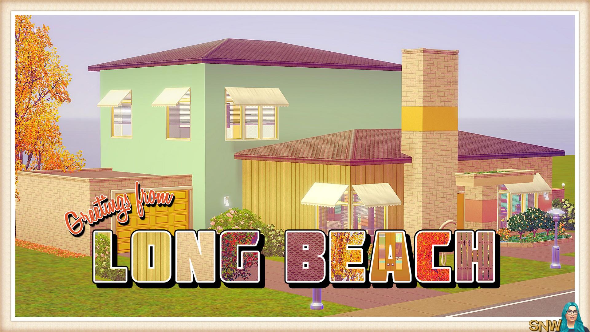 "Mid-Century Home ""Long Beach"""