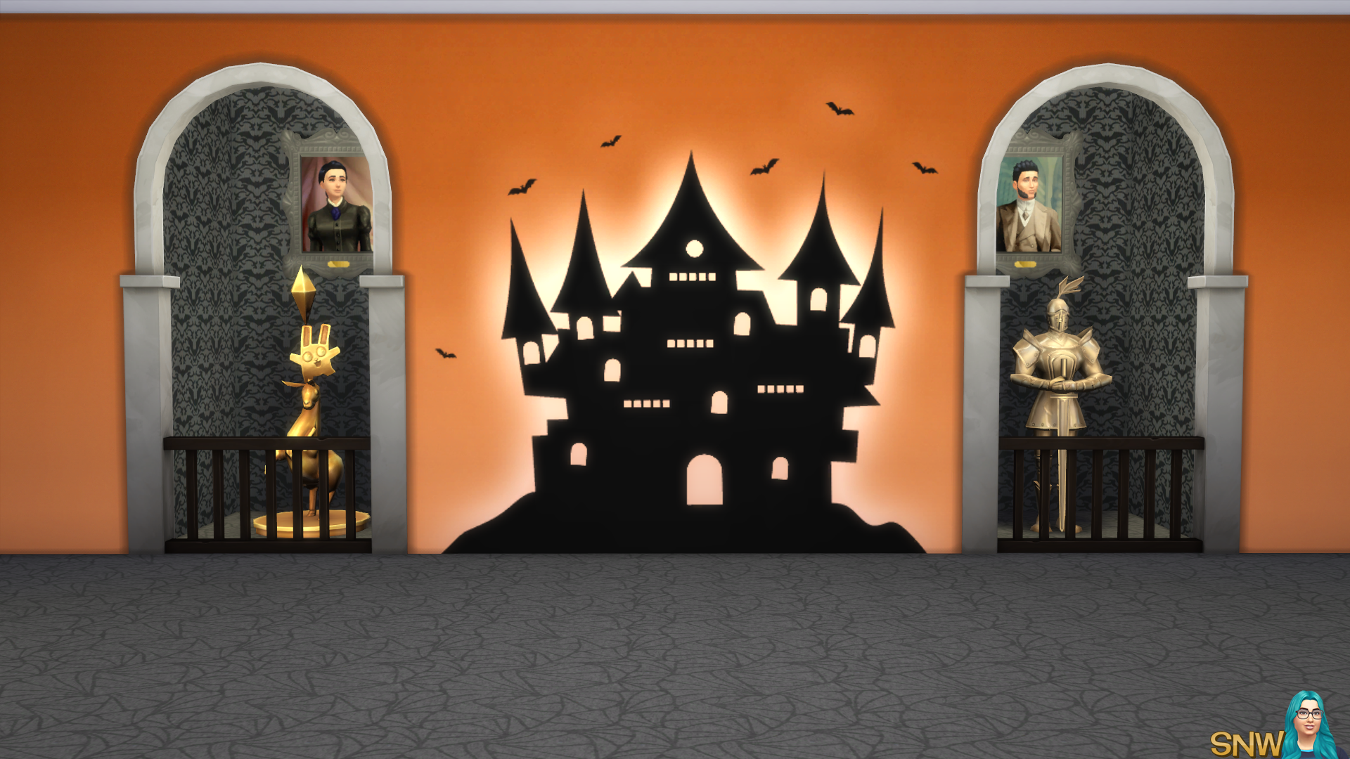 Halloween 2016 Mural #1
