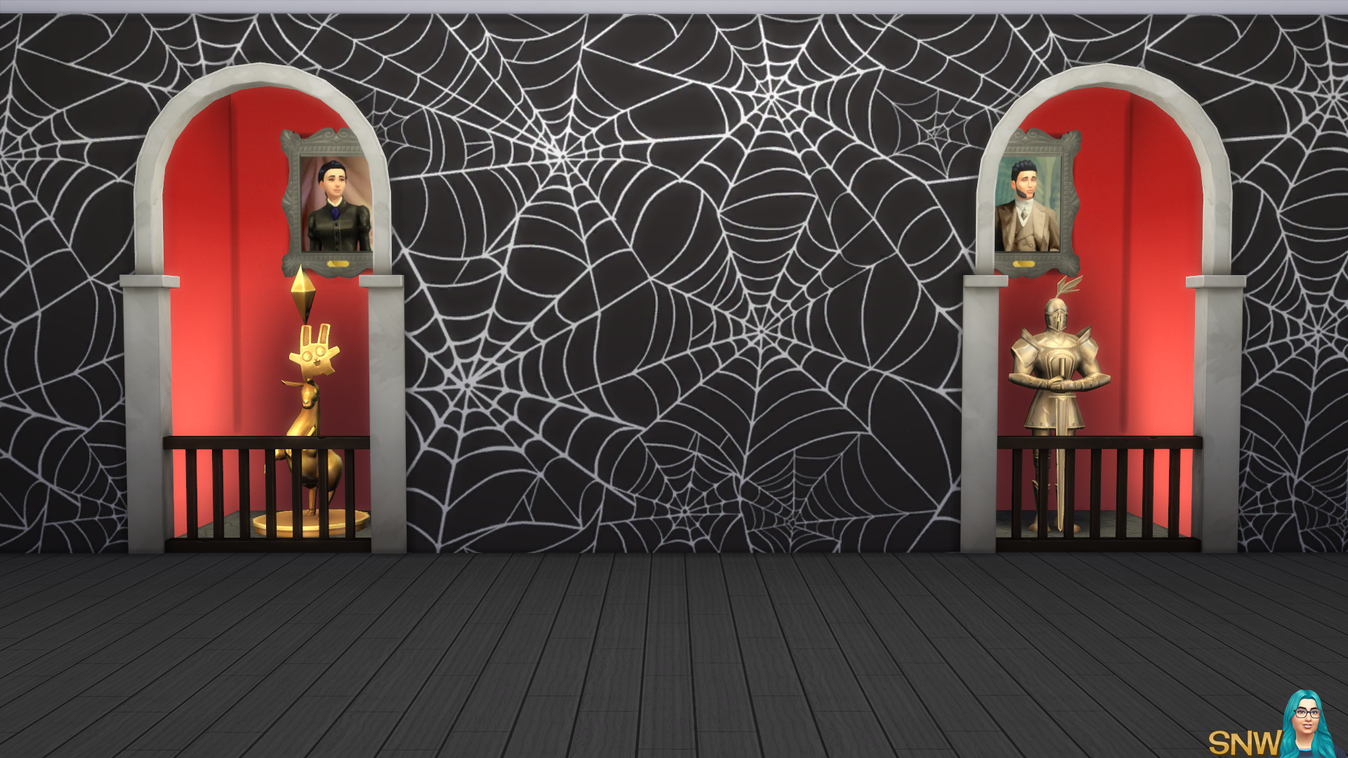 Halloween 2016 Muurschildering Set (Gradient Basismuur)