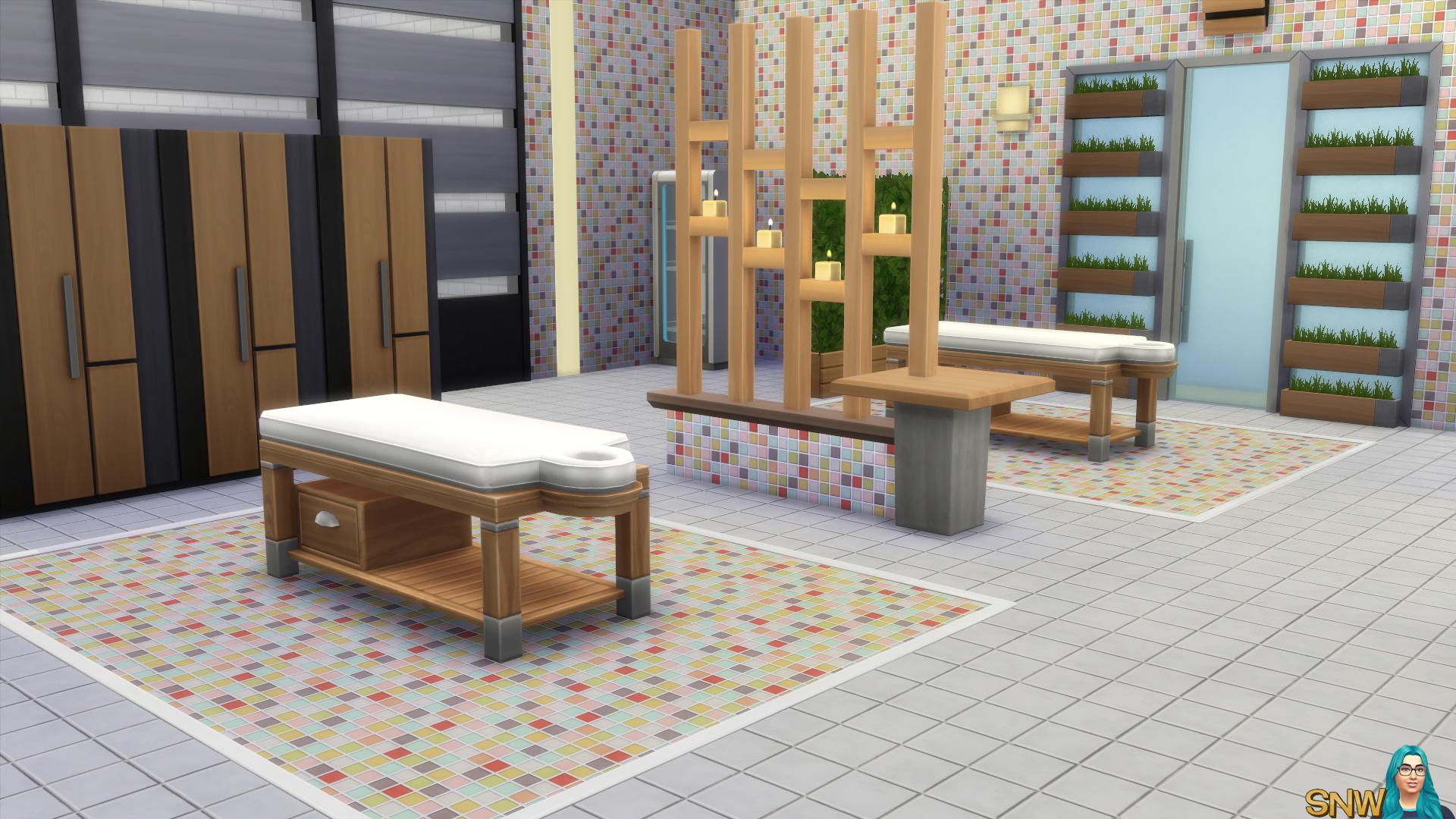 Mosaic Floor Tiles