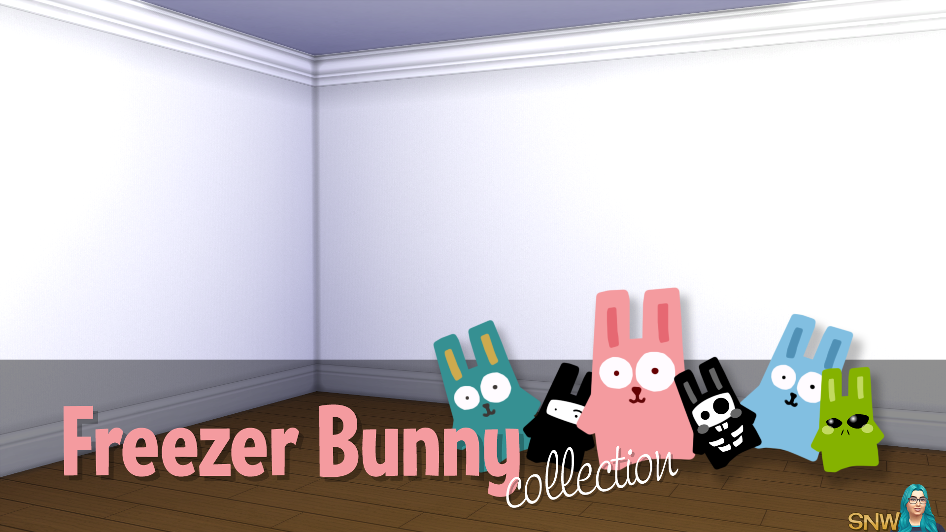 Freezer Bunny Collection: Plain Wallpapers