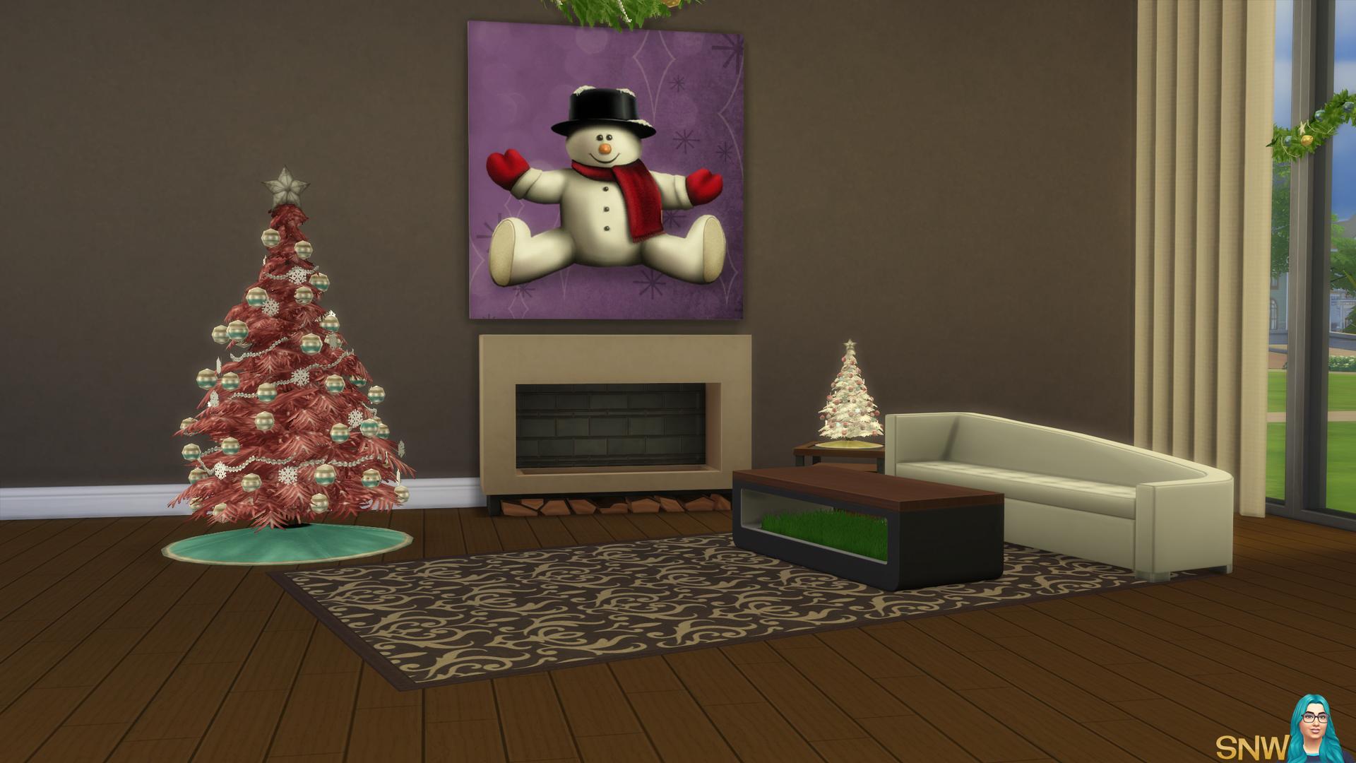 Large Snowman Painting #2