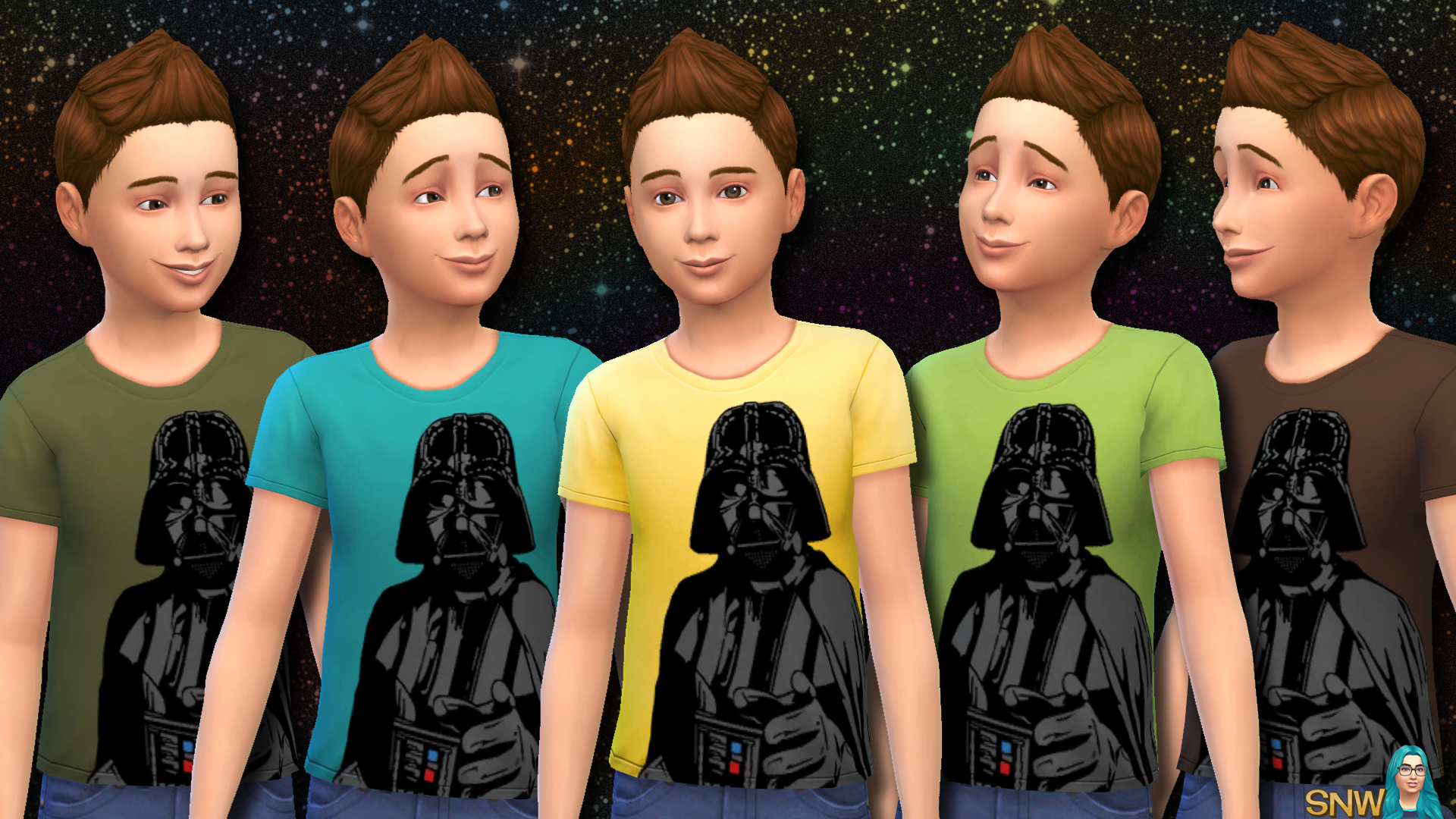 Star Wars Darth Vader Shirts for Kids
