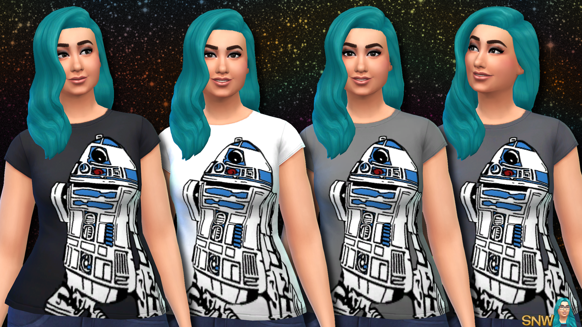 Star Wars R2-D2 Shirts for Women