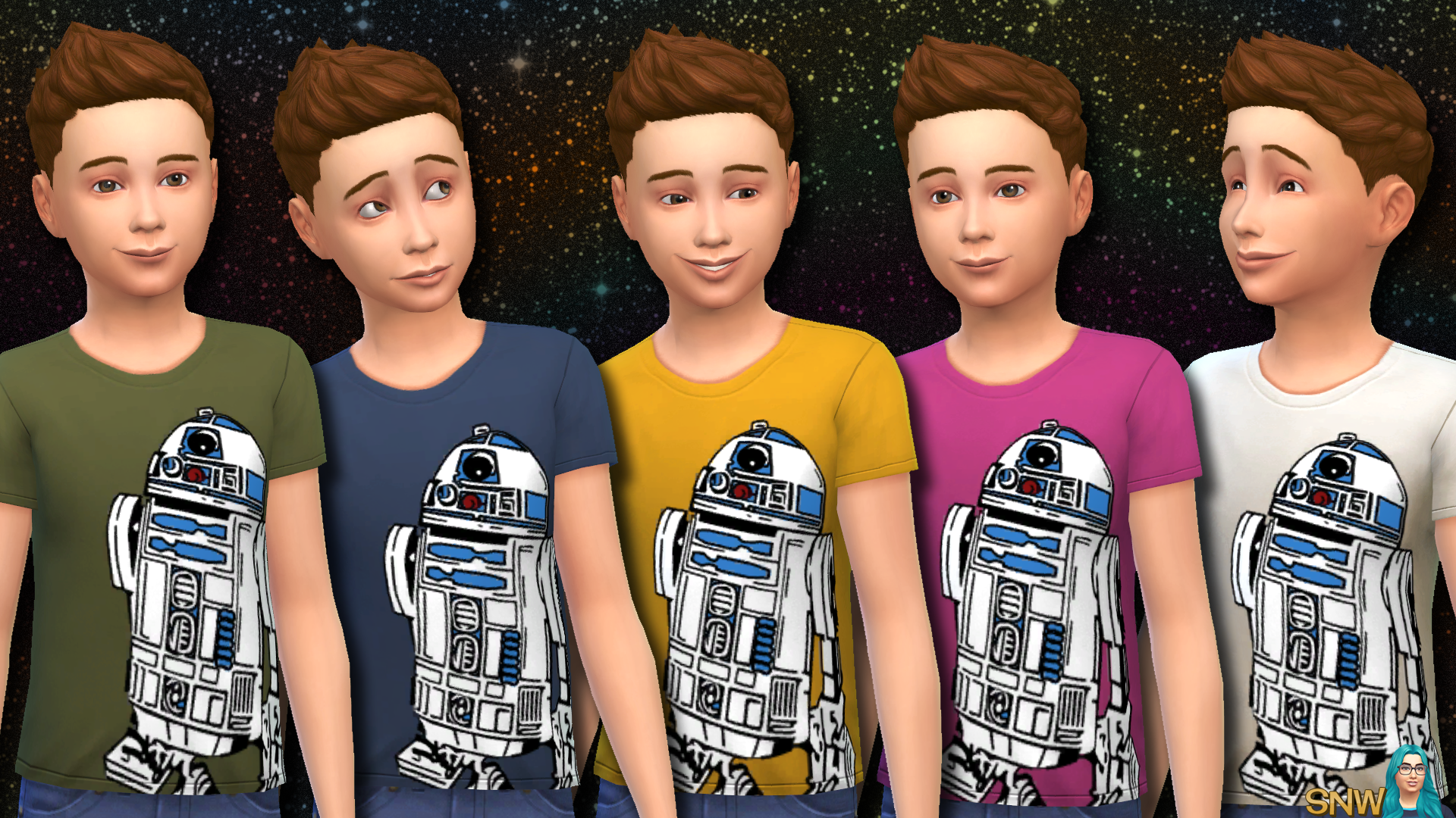 Star Wars R2-D2 Shirts for Kids