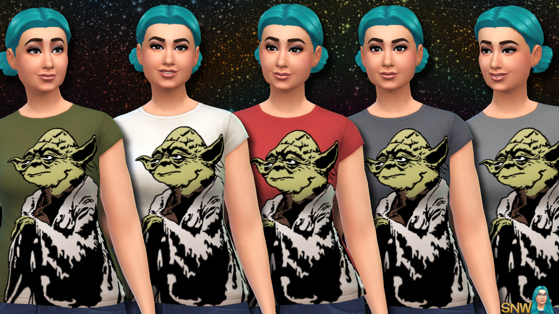 Star Wars Yoda Shirts for Women