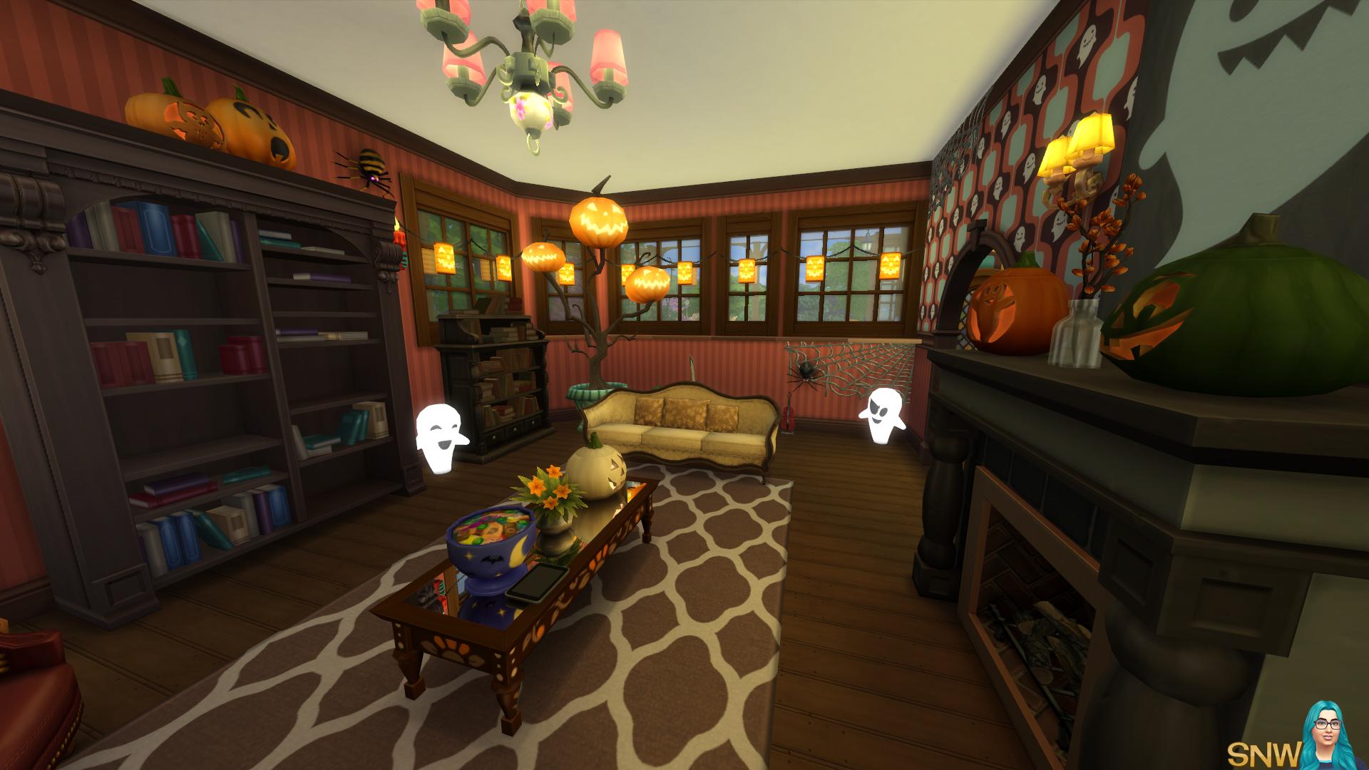 Spooky & Cute Victorian Huis