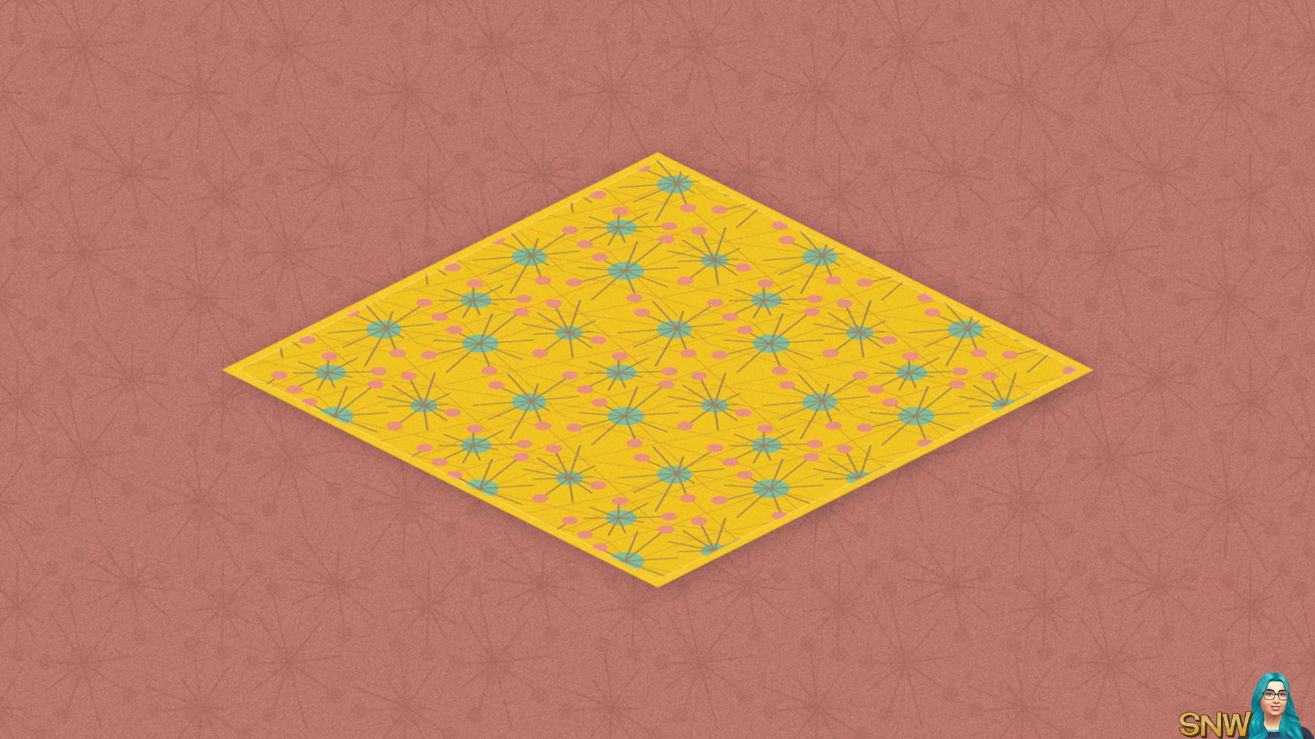 Cocktail Shaker rug