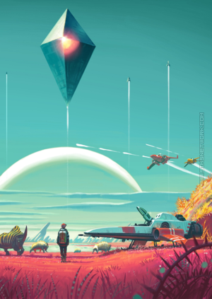 No Man's Sky box art packshot
