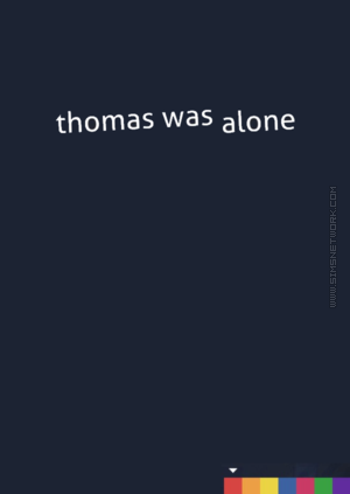 Thomas Was Alone box art packshot