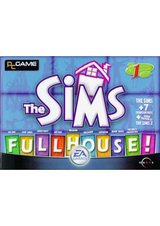 The Sims: Full House box art packshot