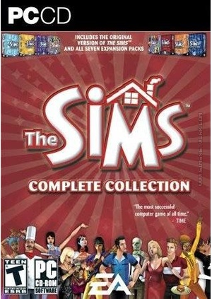 The Sims: Complete Collection box art packshot US