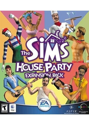 The Sims: House Party for Mac box art packshot