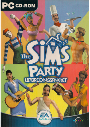 The Sims: Party box art packshot