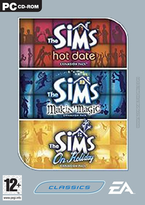 The Sims: Triple Expansion Collection, volume two box art packshot