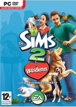 De Sims 2: Huisdieren box art packshot