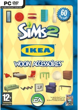De Sims 2: IKEA Woon Accessoires box art packshot