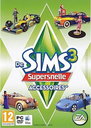 De Sims 3: Supersnelle Accessoires box art packshot