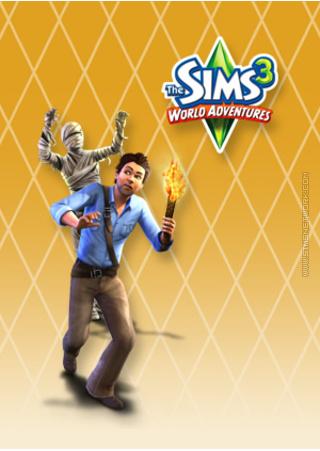 The Sims 3: World Adventures for mobile phones box art packshot