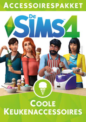 De Sims 4: Coole Keukenaccessoires box art packshot