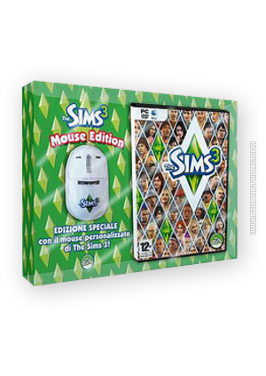 The Sims 3: Mouse Edition packshot box art
