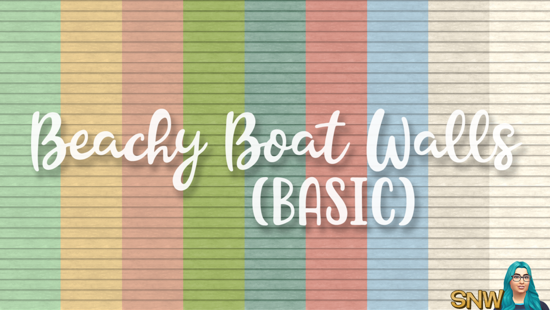 SNW Beachy Boat Basic Siding Walls