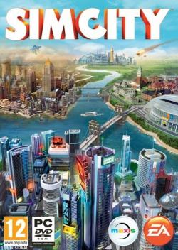 SimCity box art packshot