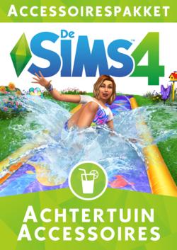 De Sims 4: Achtertuin Accessoires box art packshot