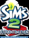 De Sims 2: Studentenleven logo