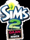 De Sims 2: Gaan het Maken logo