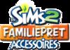 De Sims 2: Familiepret Accessoires logo