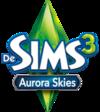 De Sims 3: Aurora Skies logo