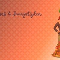 De Sims 4: Jaargetijden wallpaper