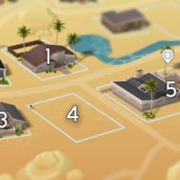 The Sims 4: Oasis Springs world neighbourhood #1