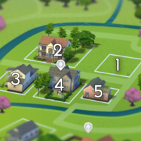 The Sims 4: Willow Creek world neighbourhood #1