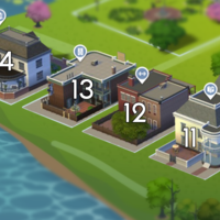 The Sims 4: Willow Creek world neighbourhood #3
