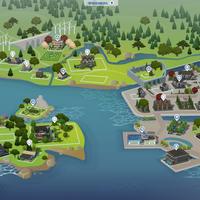 The Sims 4: Windenburg world